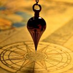 pendulum over a map